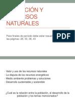 10. Poblacion y Recursos Naturales