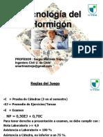 UTEM 2016 Clase 1 Introducción a La Tecnologia Del Hormigón