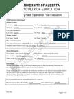 ifx final evaluation