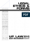 Legal Ethics & Forms 2010 - Printable