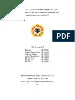 Proposal Standar Asuhan Keperawatan