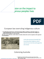 year 3 indigenous and european contact
