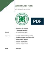 Tecnologia de Concretouniversidad Ricardo Palma