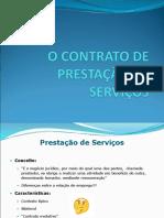 8 - Contrato de Prestação de Serviços
