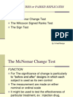 The Mcnemar Change Test