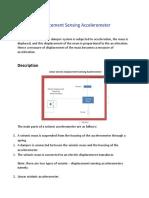 Seismic Displacement Sensing Accelerometer