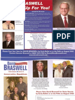 David Braswell Standing Up for You