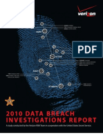 2010 Data Breach Report Verizon