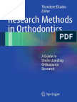 Spiros Zinelis, William a. Brantley Auth., Theodore Eliades Eds. Research Methods in Orthodontics a Guide to Understanding Orthodontic Research