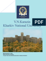 Karazine Kharkiv National Medical Uni Brochure