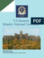 Karazine Kharkiv National Medical Uni Brochure