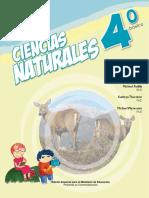 libro ciencias naturales 4° basico 2017