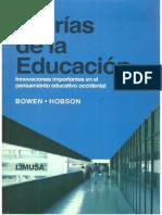 Teorías de La Educación.