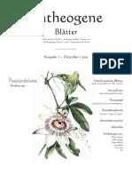 Entheogene Blätter - Ausgabe 7 - 12-2002