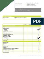 Skills Checklist (HCA and Mental Health) - Copy[1710]