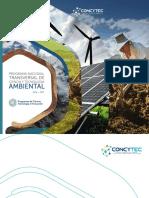 CINTyA Programa Nacional de CyT Ambiental