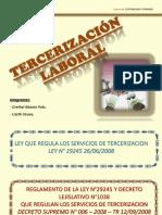 TERCERIZACION LABORAL