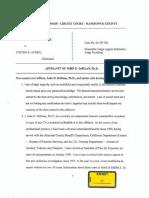 Dr. John Dehaan 2017 Affidavit RE