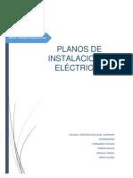 Informe Planos Instalaciones Electricas