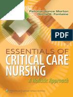 Pdf nursing approach critical a holistic care