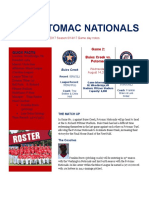 potomac nationals game day notes