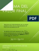 Teorema Valor Final Alvarado Mendez Pedro Eusebio