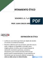 Comportamiento Ético - Sesiones 5, 6, 7 y 8
