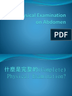 MS4 lecture on Physical Examination on Abdomen 20140331.pptx