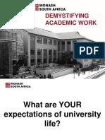 Demystifying Academic Work Presentation