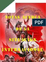 Notas Sobre La Situación Internacional
