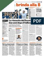 La Gazzetta dello Sport 18-06-2017 - Serie B
