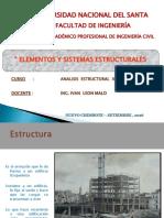 Elementos y Sistemas Estructurales