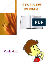 Review Modals