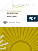 Demarcacions, Toponimos, Papeis,Memoria