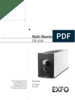 User Guide FTB-5320
