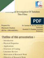 15PGAMT001 Tantalum Final Ppt