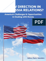 A New Direction in U.S. Russia Relations CFTNI 2017 Saunders