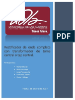 Práctica No. 1 Electronica