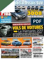 Auto Plus - 27 Janvier Au 2 Fevrier 2017