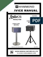 Leslie 2101 Service Manual