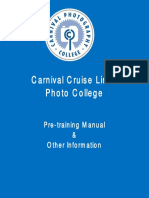 Pre-Training Manual for Photo Trainees (1)