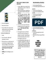 ateneoville earthquake drill guidelines