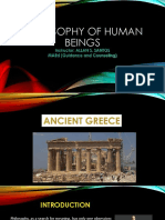 Philosophy of Human Beings (Ancient Greece.pptx