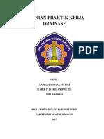 Laporan Praktik Kerja Drainase Total 97