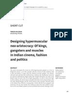(2014) Designing Hypermuscular Neoaristocracy - Tereza Kuldova