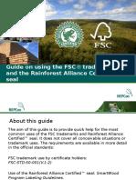 NEPCon FSC Trademark Guide 2013 11