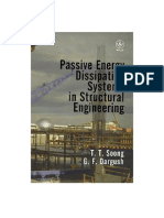 Soong T. T., Passive Energy Dissipation Systems in Structural Engineering, 1997