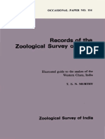 Snakes of India Zoologigal Survey of India
