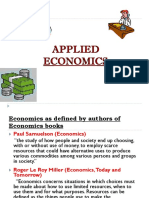 The Three Basic Economic Problems