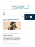 """A Direita Desligou o Transponder - TIJOLAÇO _ """"a Política, Sem Polêmica, é a Arma Das Elites"""